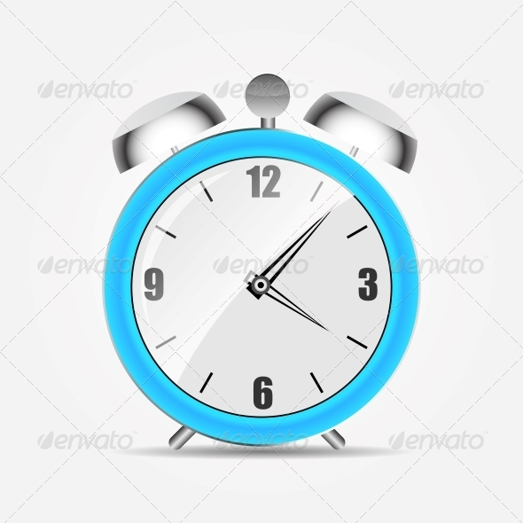 Alarm Clock Icon - Miscellaneous Conceptual
