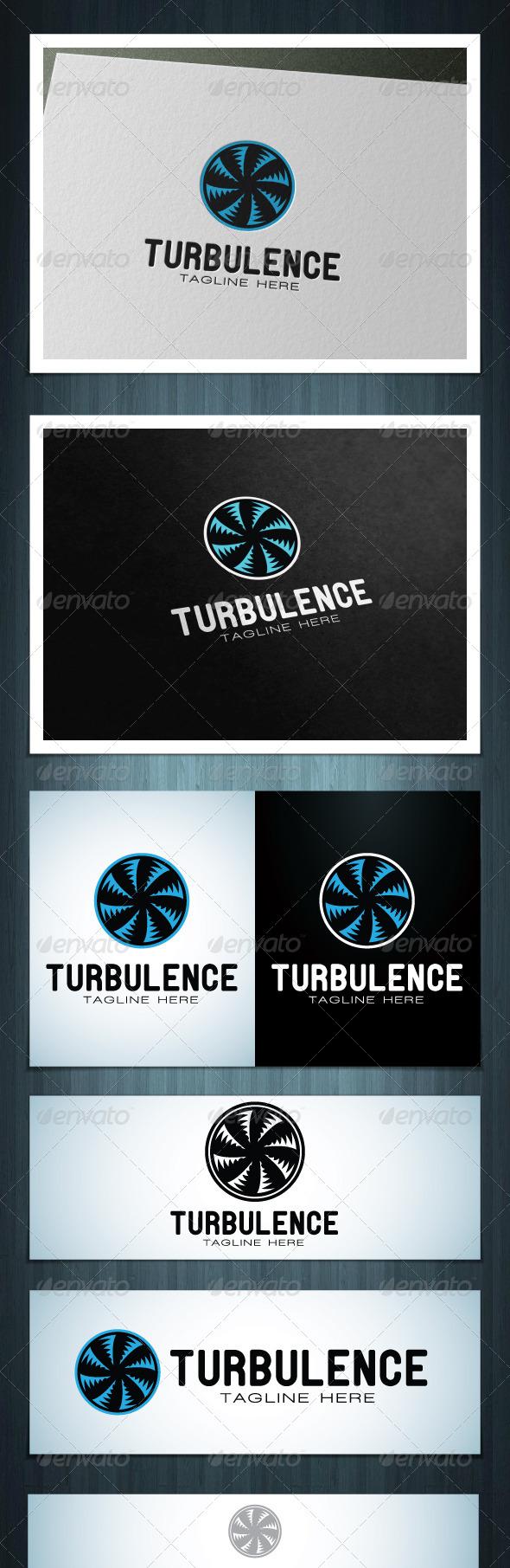 Turbulence - Vector Abstract