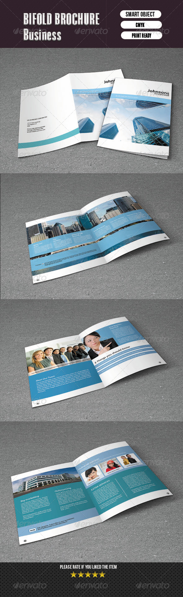 Bifold Brochure For Business-8 Pages - Corporate Brochures