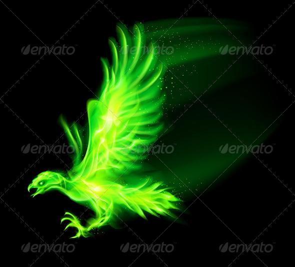 Fire Hawk. - Decorative Symbols Decorative