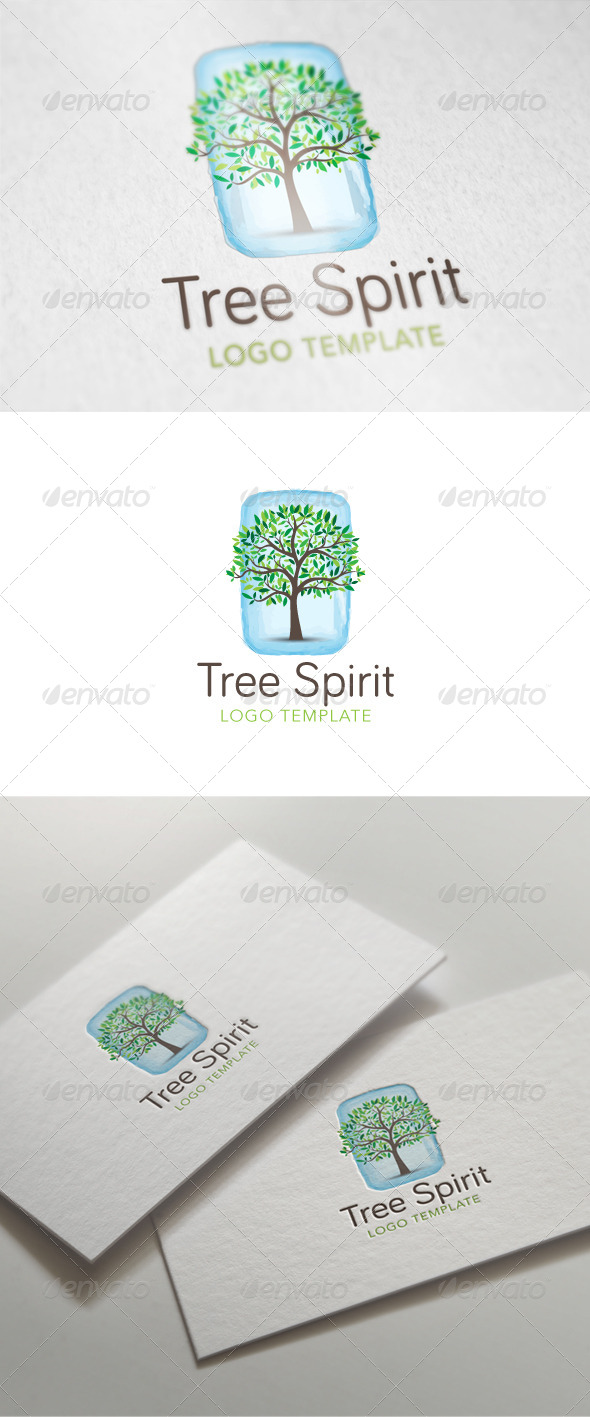 Tree Spirit Logo Template - Nature Logo Templates