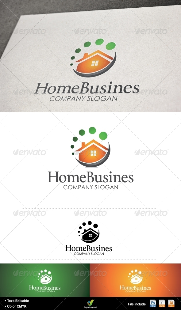 Home Business - Buildings Logo Templates