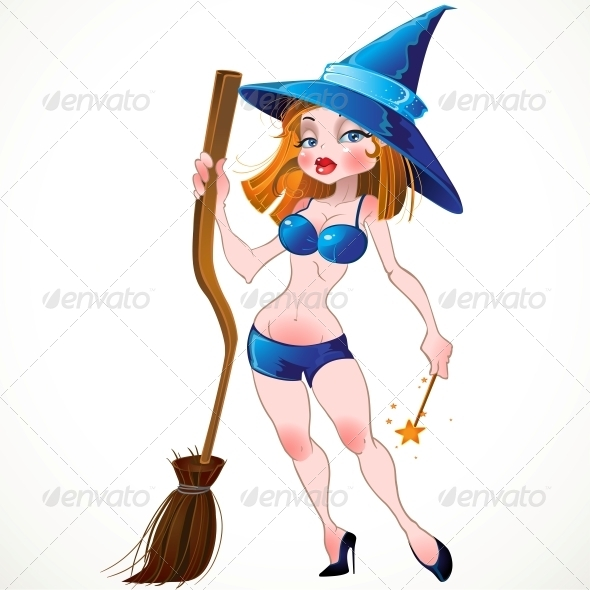 Vector Witch - Halloween Seasons/Holidays