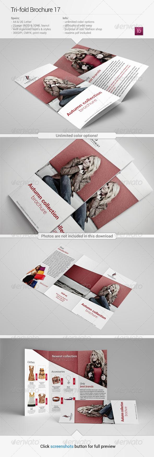 Tri-Fold Brochure 17 - Informational Brochures