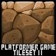 Platformer Game Tile Set 11 - GraphicRiver Item for Sale