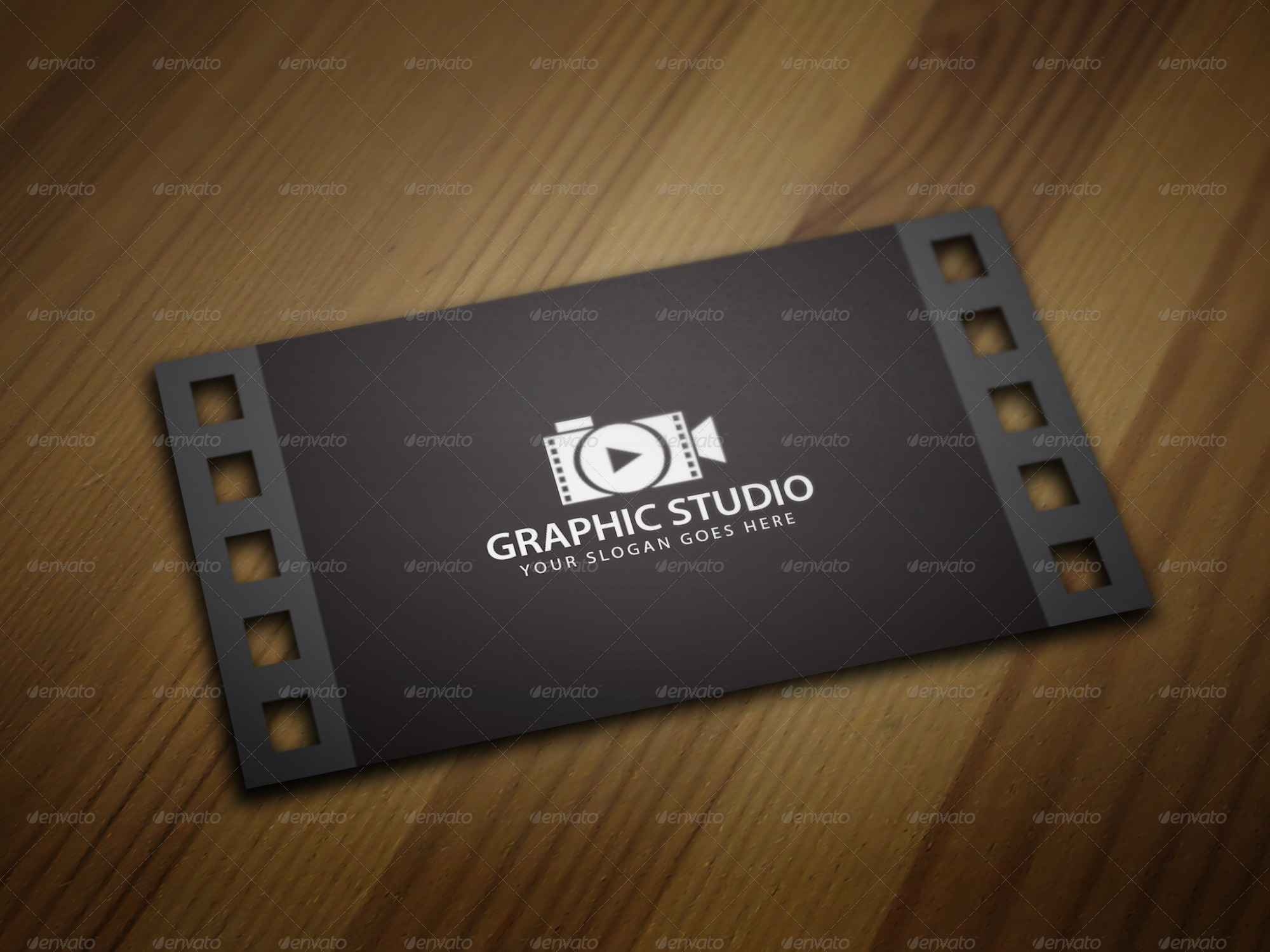 Filmography business card template by kazierfan graphicriver filmography business card template wajeb Image collections
