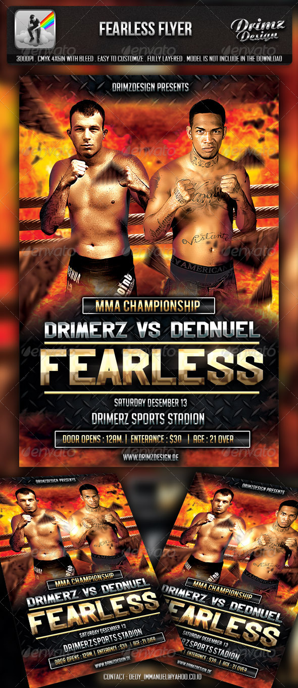 Fearless Flyer - Sports Events