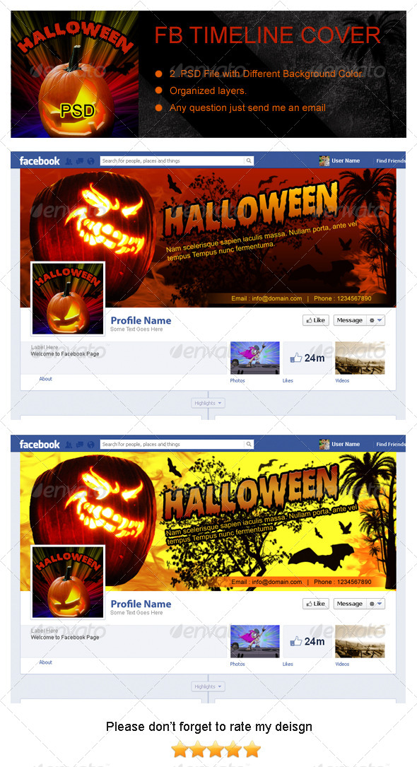 Halloween Fb Timeline Cover - Facebook Timeline Covers Social Media