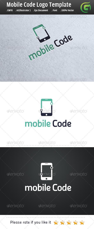 Mobile Code - Symbols Logo Templates