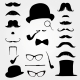 Mustaches and Other Retro Accessories - GraphicRiver Item for Sale