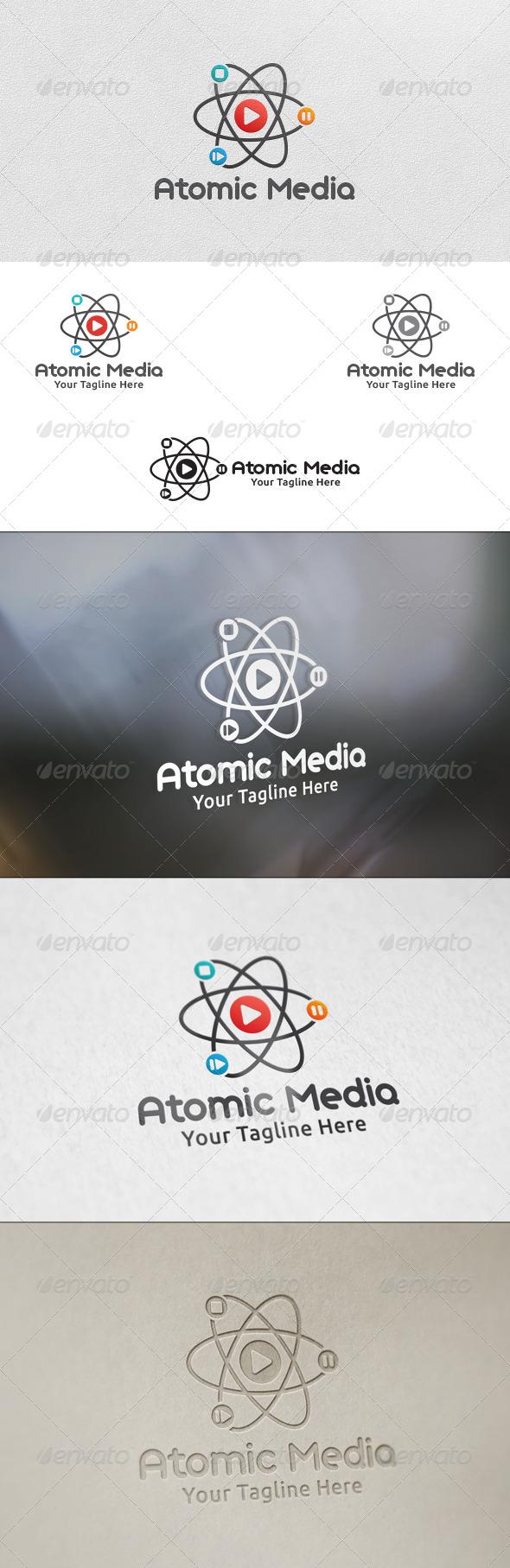Atomic Media - Logo Template - Symbols Logo Templates