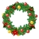 Christmas Decoration with Berrys  - GraphicRiver Item for Sale