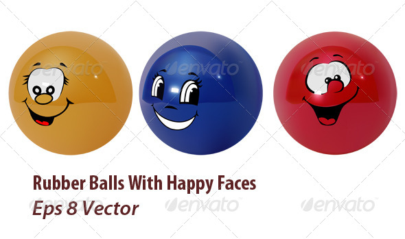 Happy Balls - Conceptual Vectors