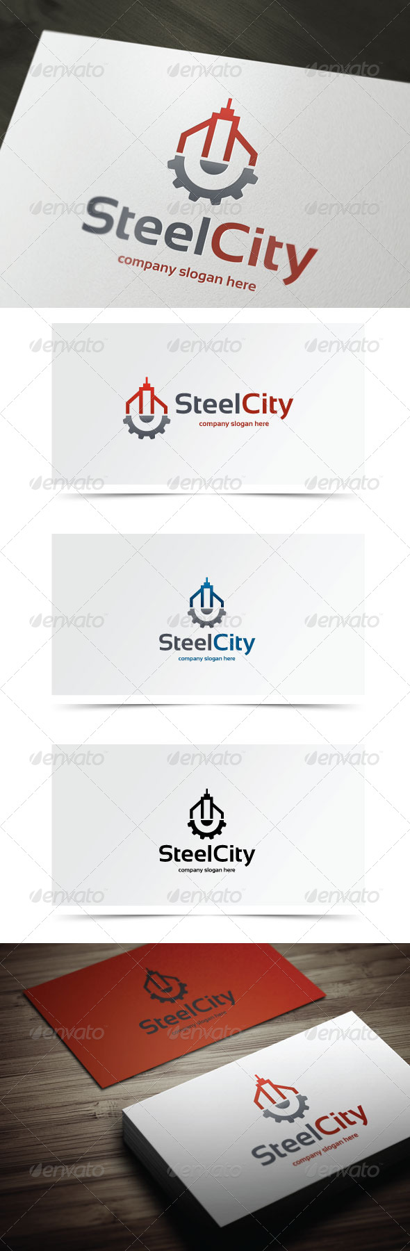 Steel City - Objects Logo Templates
