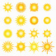 Vector Suns - GraphicRiver Item for Sale