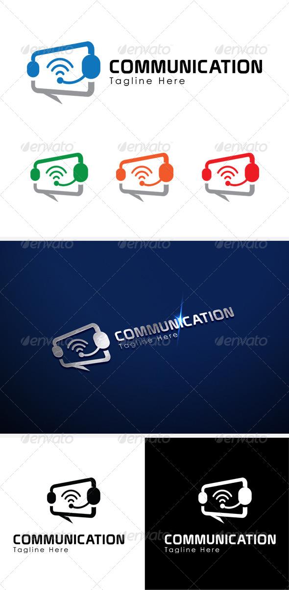 Communication Logo Template - Symbols Logo Templates