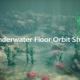 Underwater Floor Orbit Shot