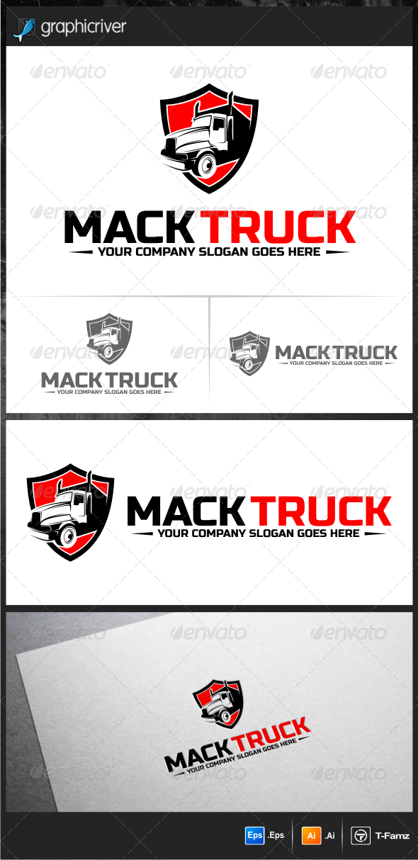 Truck Logo Templates - Objects Logo Templates