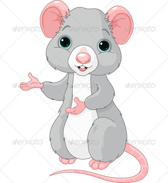 Cartoon Rat - Animals Characters
