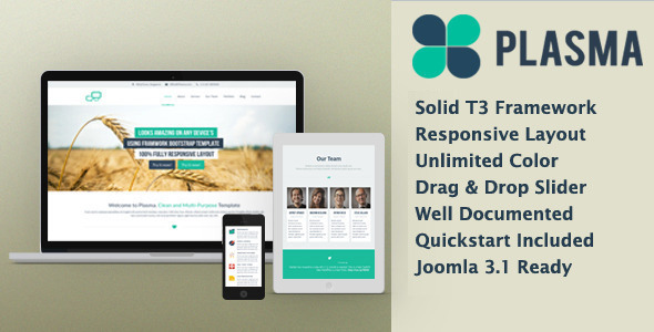 Plasma - Multi-Purpose Responsive Template - Portfolio Creative