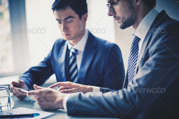 Men working in office - Stock Photo - Images