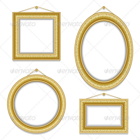 Set of frame - Backgrounds Decorative