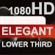 Elegant Lower Third - VideoHive Item for Sale