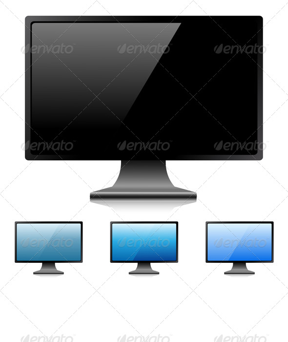 Digital Monitor - Technology Conceptual