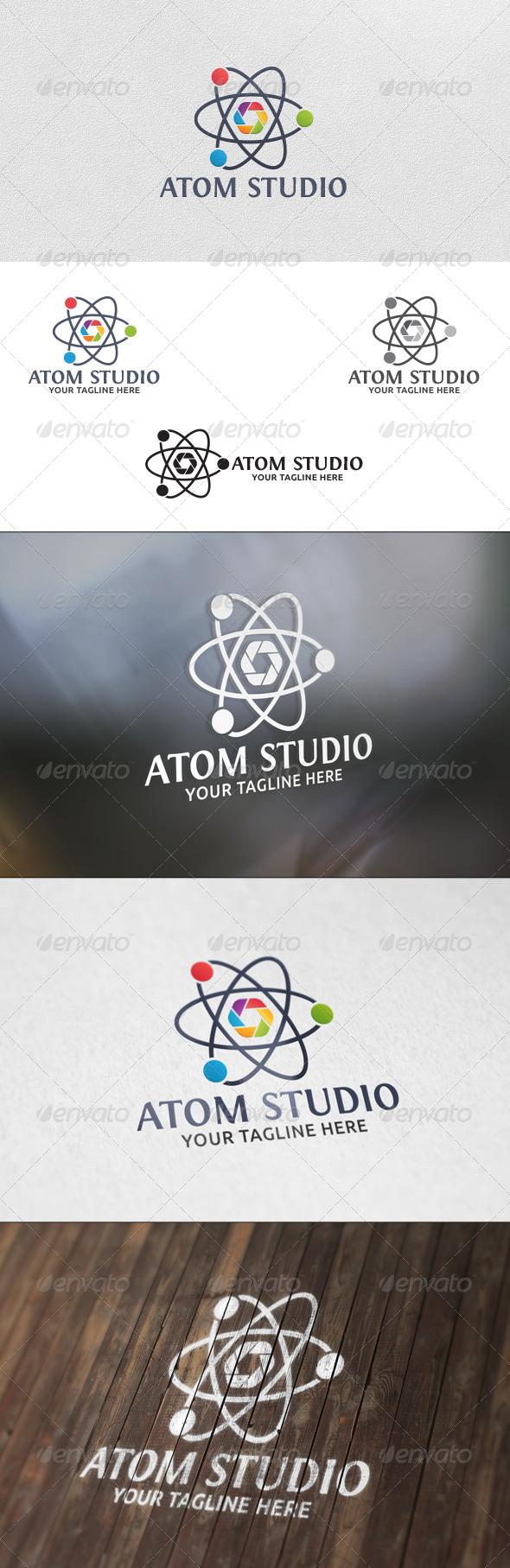 Atom Studio - Logo Template - Symbols Logo Templates