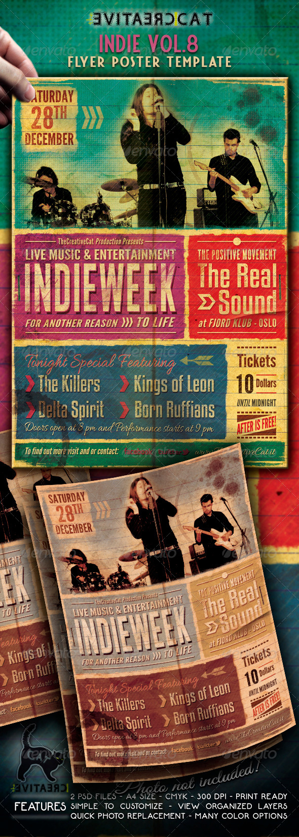 Indie Flyer/Poster Vol. 8 - Events Flyers