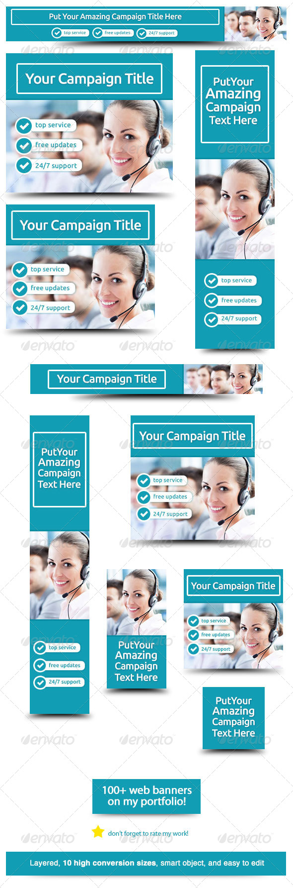 Corporate Web Banner Design Template 30 by admiral_adictus ...