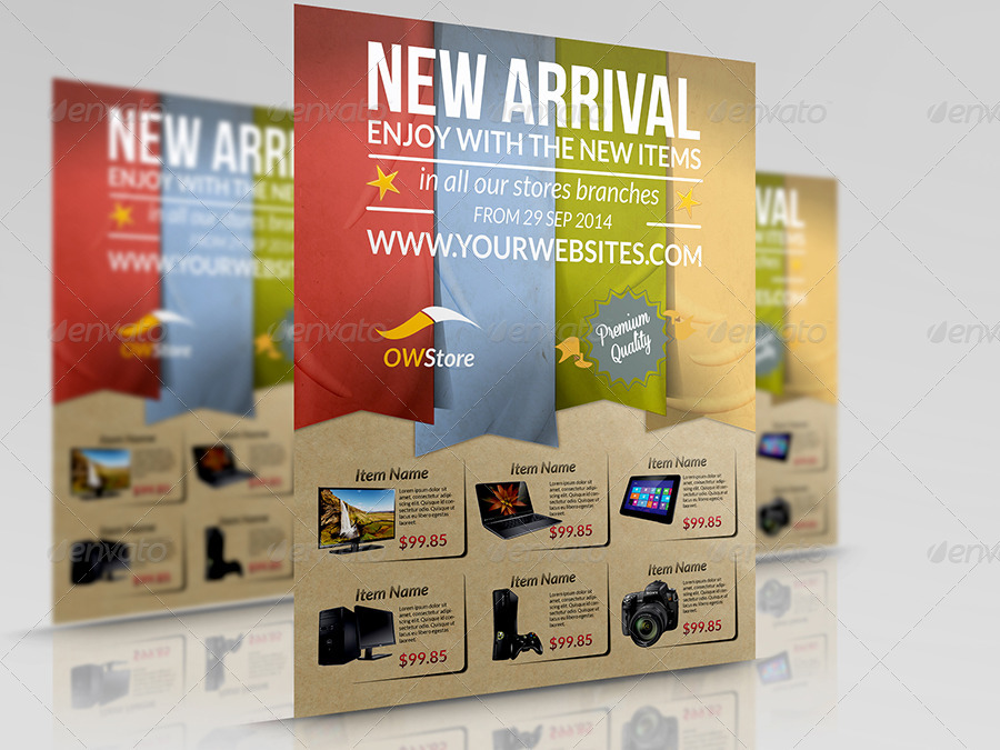 b6d6d9f2c03 New Arrival Products Flyer Template - Commerce Flyers ·  01 New Arrival Flyer Template.jpg ...