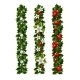 Green Christmas Garlands of Holly and Mistletoe - GraphicRiver Item for Sale