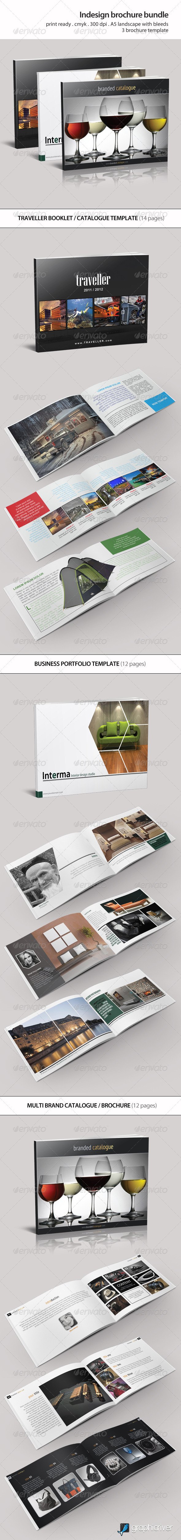 Indesign Brochure Bundle Vol 1 - Catalogs Brochures