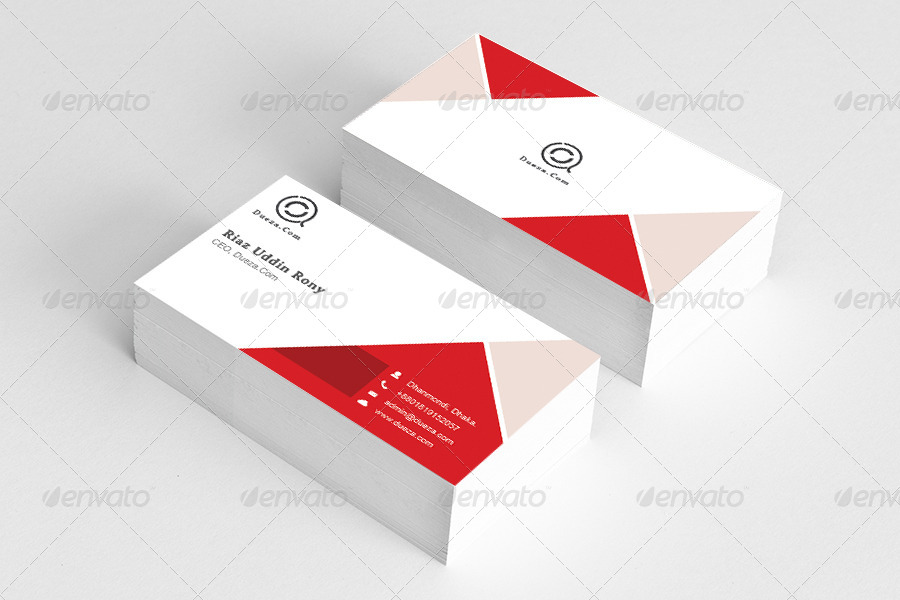 Cool red business card by graphicsdesignstudio graphicriver cool red business card corporate business cards preview image set01previewg colourmoves