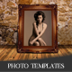 4 Vintage Photo Templates - GraphicRiver Item for Sale