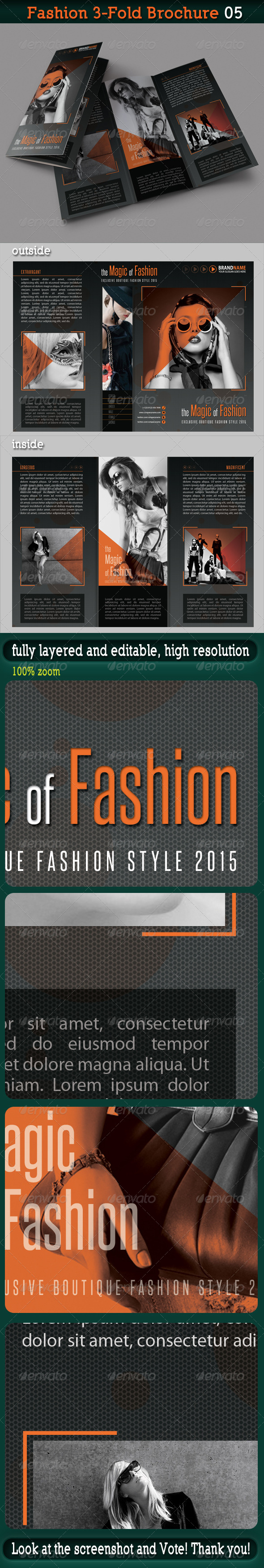 Fashion 3-Fold Brochure 05 - Catalogs Brochures