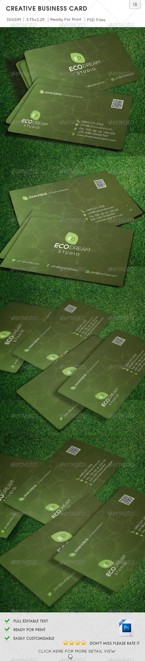Creative Business Card v18 - Creative Business Cards