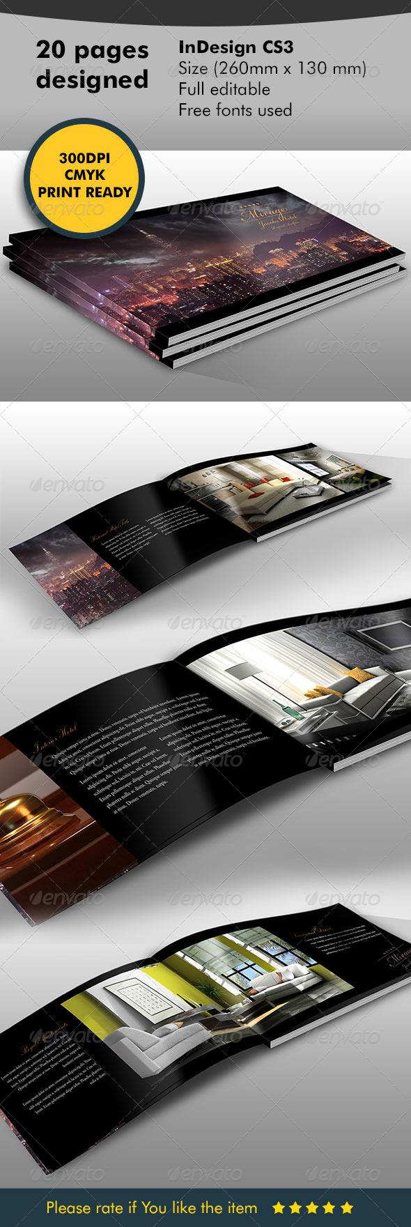 Brochure - Catalog Hotel - Catalogs Brochures