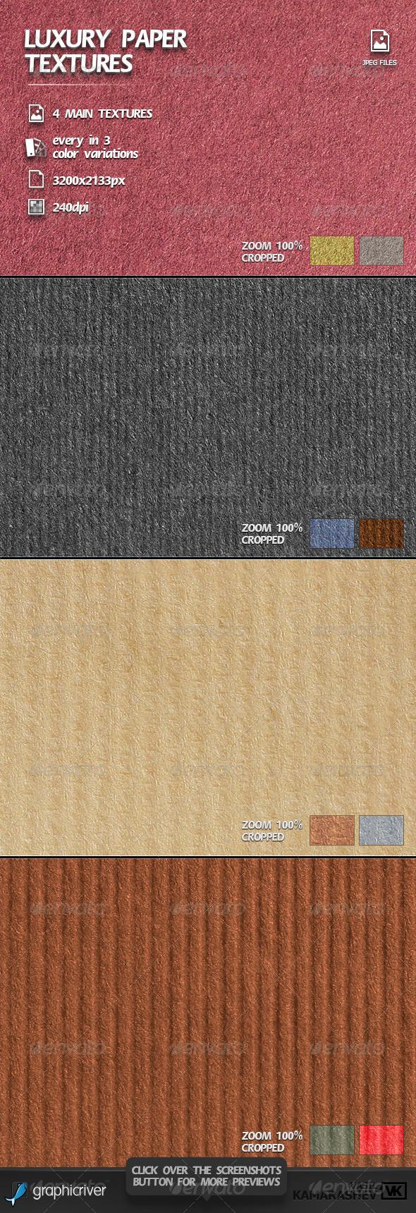 Luxury Paper Textures - Paper Textures