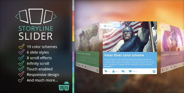 Storyline 3D Slider - CodeCanyon Item for Sale