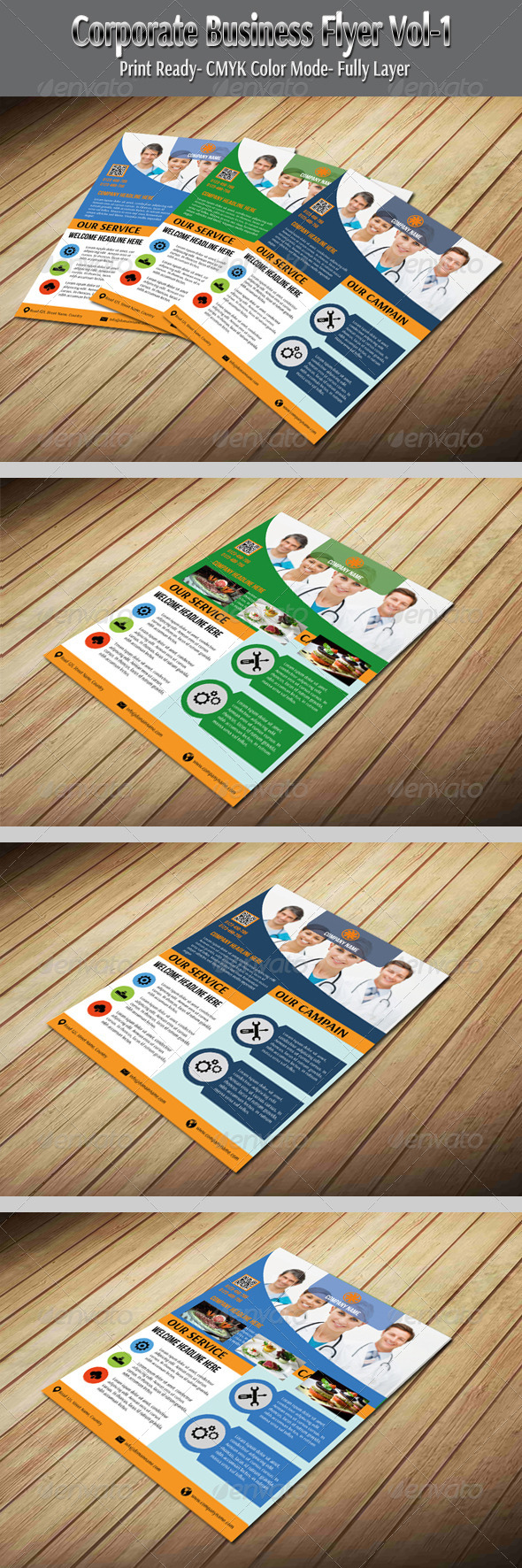 Corporate Business Flyer Vol-1 - Corporate Flyers