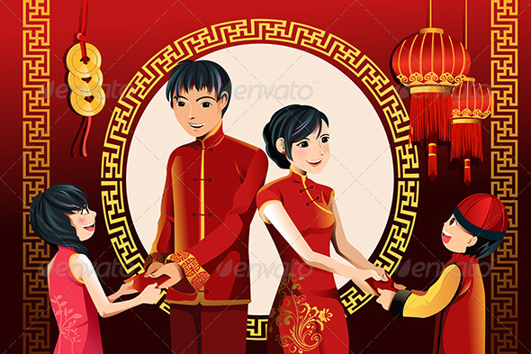 Chinese New Year Celebration - Seasons/Holidays Conceptual