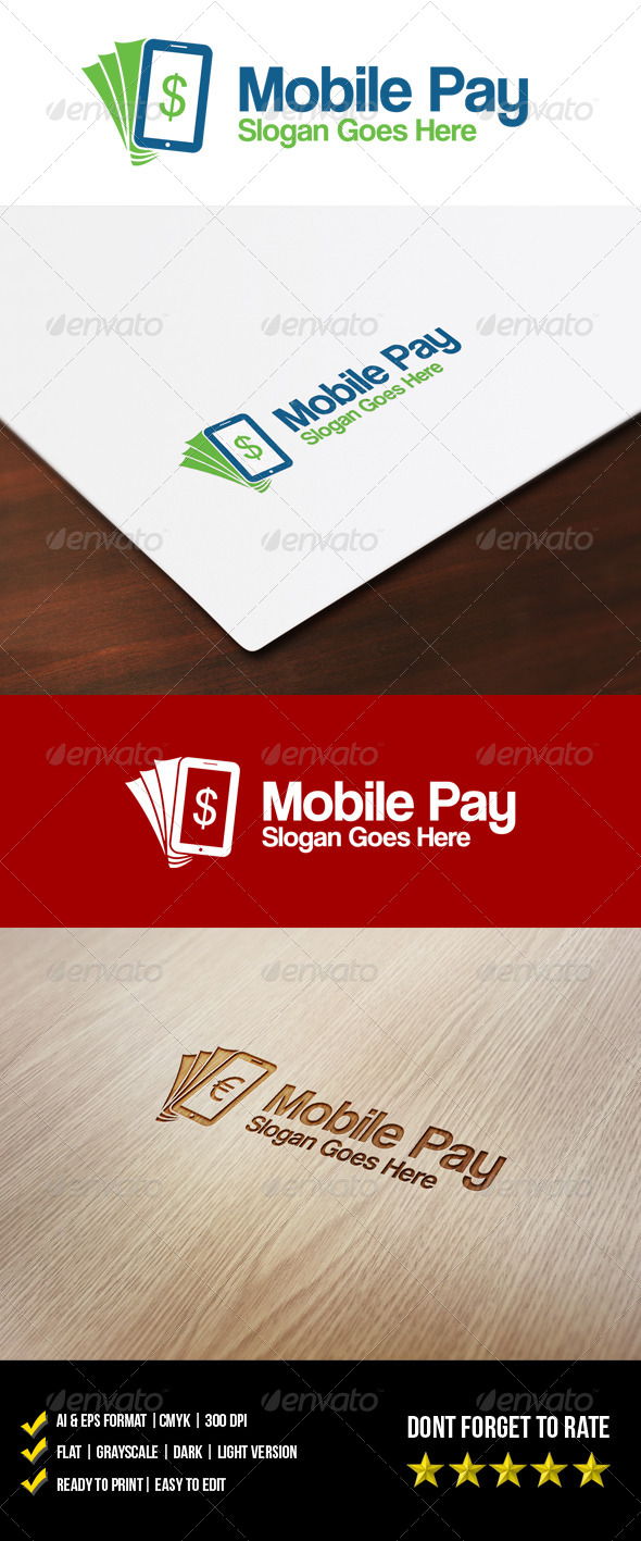 Mobile Pay Logo - Objects Logo Templates