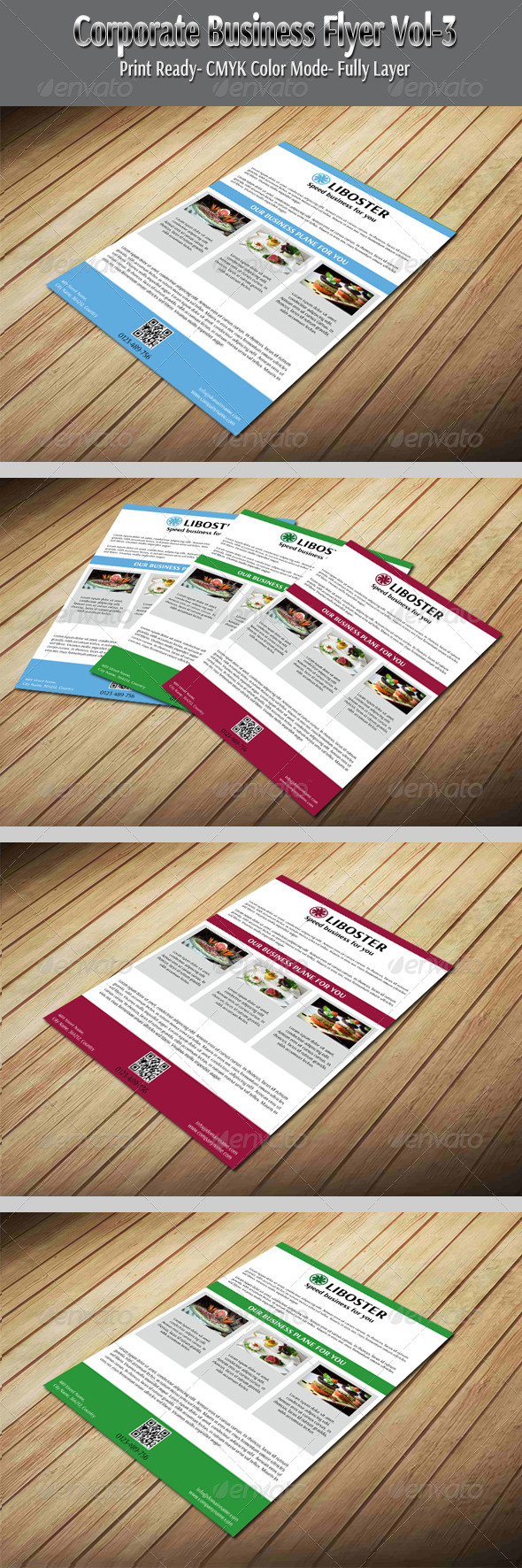Corporate Business Flyer Vol-3 - Corporate Flyers