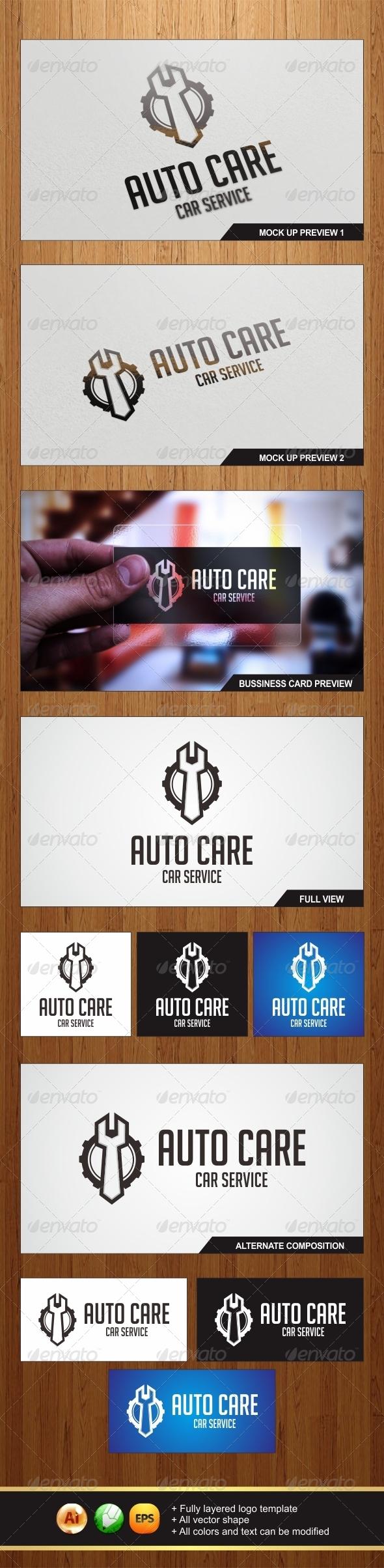 Auto Care Logo - Symbols Logo Templates