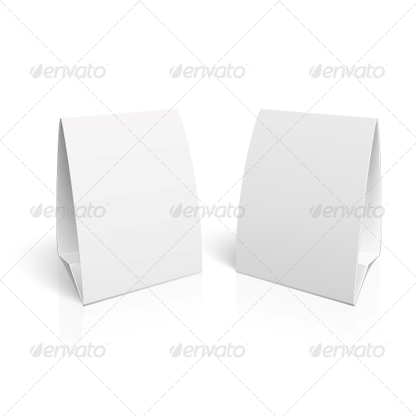 Blank Paper Table Cards - Man-made Objects Objects