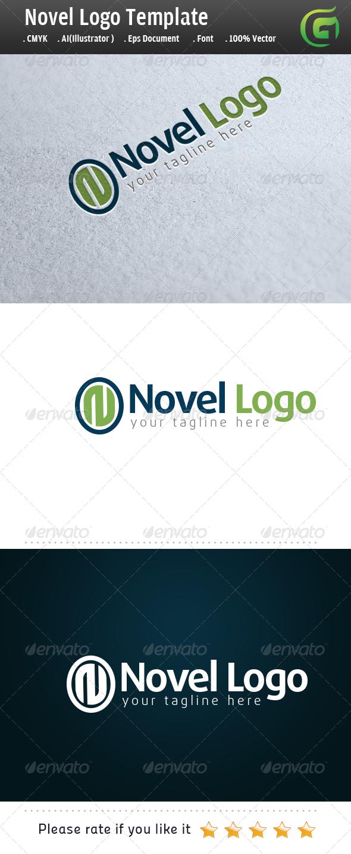 Novel Logo - Letters Logo Templates