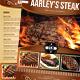 Steak Menu Flyer Template - GraphicRiver Item for Sale