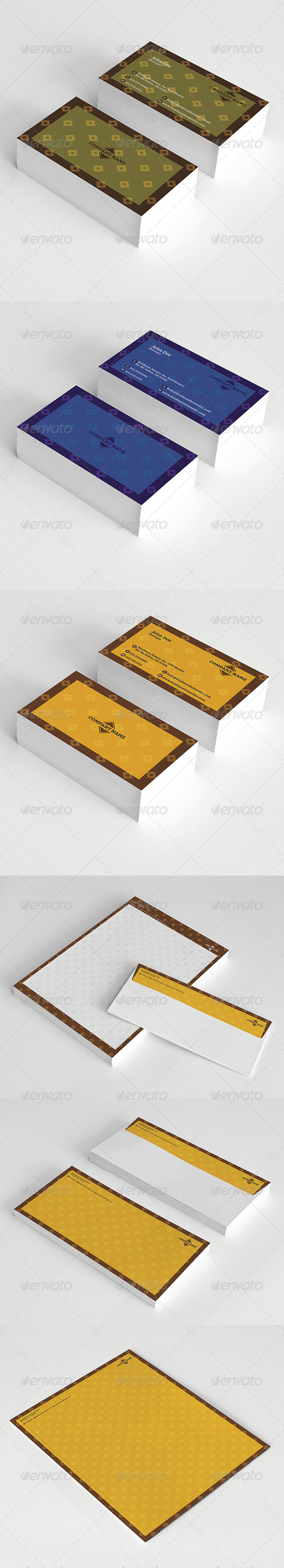 Stationery - Stationery Print Templates
